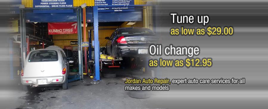Jordan Auto Repair Home